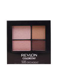 Revlon ColorStay 16 Hour Quad Eyeshadow - Decadent