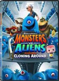 Monsters Vs Aliens: Cloning Around (DVD)
