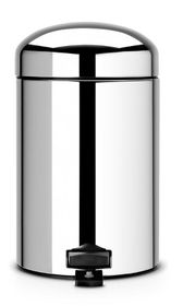 Brabantia - Retro Bin - 3 Litre - Brilliant Steel