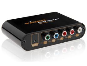 Lenkeng Component to Composite & S-VIDEO Converter