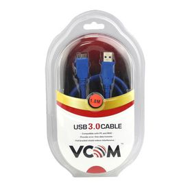 VCOM USB3.0 A Male to Micro B Male Cable (CU311) - 1.8m