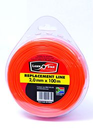 Lawn Star - 2.0 mm x 100m Replacement Line Donut