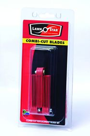 Lawn Star - Combi-Cut Replacement Blades - Set of 3