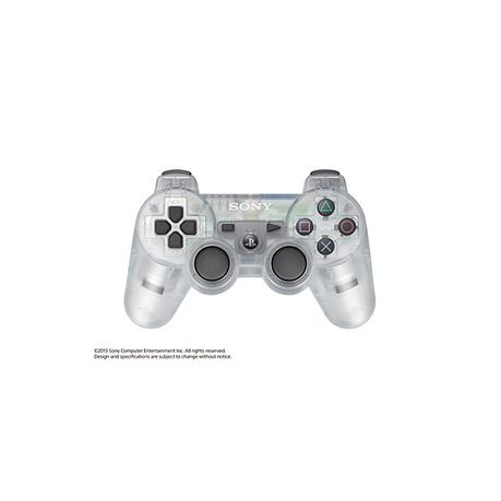 PS3 Controller Dualshock 3 - Crystal (PS3 Accessory)
