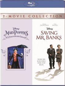 Saving Mr Banks / Mary Poppins Box Set (Blu-ray)