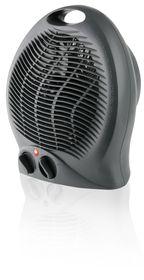 Mellerware - 2000W Heater Floor Fan - Graphite