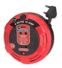 Masterplug - Cassette - Red & Black 8m