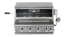 Alva - Leopard 4 BBQ Gas Burner - Stainless Steel
