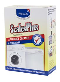 Hillmark - Scalex Plus Appliance Cleaner Sachets - 3 x 0.075kg