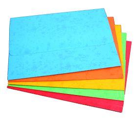 Donau Document Wallet Board - Blue (Pack of 10)