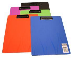 Donau Polypropylene Fashion Clipboard - Blue
