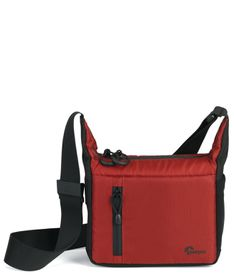 Lowepro StreamLine 100 Shoulder Bag Red Black