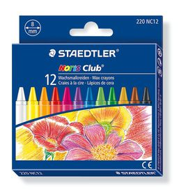 Staedtler Noris Club 12 Wax Crayons