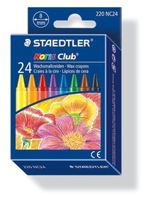 Staedtler Noris Club 24 Wax Crayons