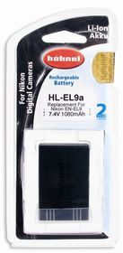 Hahnel HL-EL9A Li ion Battery
