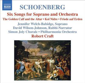 Schoenberg:Six Songs for Soprano and - (Import CD)