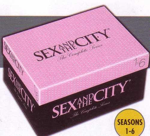 Sex and the city shoebox set