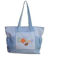 Baby Kingdom Shopper Diaper Bag - Blue