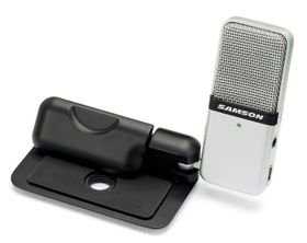 Samson Audio Go Mic Mini Portable USB Recording Microphone - Black