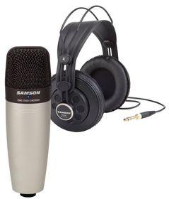 Samson Audio C01 Studio Microphone - Silver
