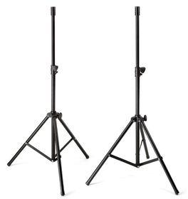Samson LS2 Lightweight Speaker Stands - Black
