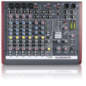 Allen & Heath ZED-10FX Compact Professional Sterio Mixer Black