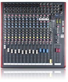 Allen & Heath ZED16FX Multi-Purpose Mixer with USB - Black