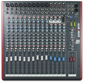 Allen & Heath ZED-18 Live Studio Mixer with USB Interface - Black