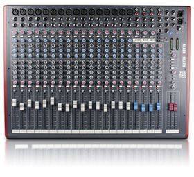 Allen & Heath ZED-24 Live Studio Mixer with USB Interface - Black