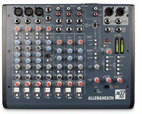 Allen & Heath XB10 Compact Broadcast Mixer - Black