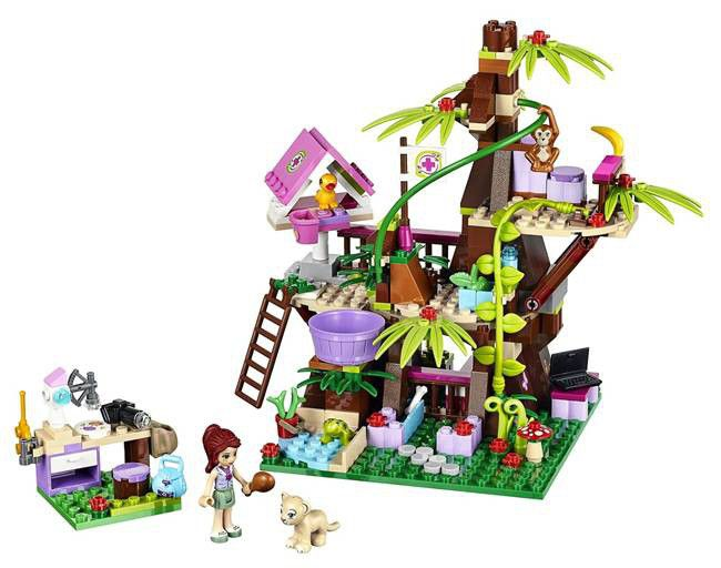 Lego Friends Jungle Tree House   Buy Online in South Africa ...