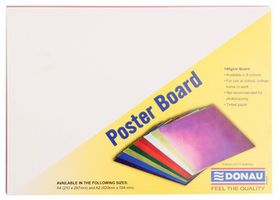 Donau Project Board - Bright Red (Pack of 100)