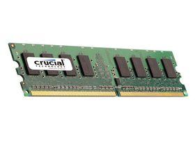 Crucial DDR2 800 U-Dimm Server Memory - 1GB