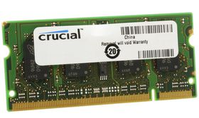 Crucial 4GB 800MHz DDR2 SO-DIMM Laptop Memory
