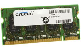 Crucial 4GB 1600MHz DDR3 SO-DIMM Laptop Memory