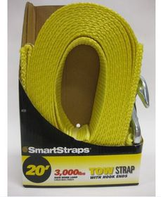 Smart Straps - Tow Strap With Hooks