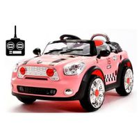 Mini Remote Control Kids Ride-On Car - Pink