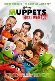 The Muppets Most Wanted (DVD)