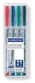Staedtler Lumocolor 4 Non-Permanent Broad Markers