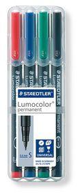 Staedtler Lumocolor 4 Permanent Superfine Markers