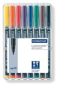Staedtler Lumocolor 8 Permanent Medium Markers