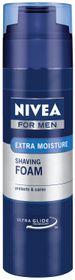 Nivea Men Moisturising Shaving Foam - 200ml