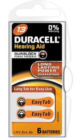 Duracell EasyTab Hearing Aid Battery Size 13