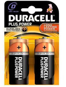 Duracell Plus Power D Alkaline Batteries