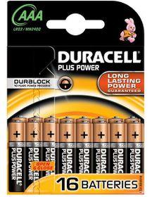 Duracell Plus Power AAA Alkaline Batteries