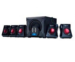 Genius 6-Piece Gaming Speakers GX-SW-G5.1-3500