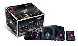Genius 6-Piece Gaming Speakers GX-SW-G5.1-3500