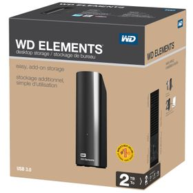 WD Elements External Desktop Hard Drive - 2TB