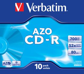 Verbatim CD-R AZO Crystal