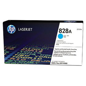 HP 828A Cyan LaserJet Image Drum with Smart Printing Technology, 30000 pages